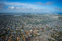 Southern suburbs of Mogadishu Somalia May