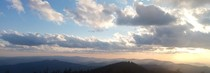 Southwest View of the Appalachians from Clingmans Dome Tennessee USA