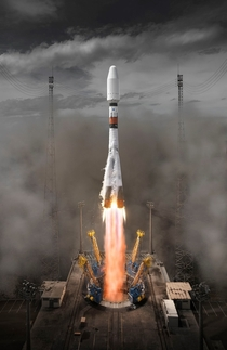 Souyz Launch from French Guiana