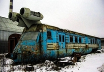 Soviet Experimental Jet-Powered Train