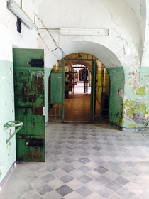 Soviet jail in Tallinn Estonia