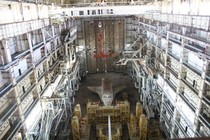 Soviet Space Shuttle found abandoned in its metal sarcophagus at the Baikonur Cosmodrome Kazakhstan