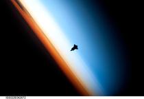 Space Shuttle Endeavour approaches the ISS during STS- mission