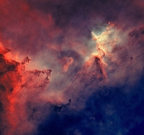 Space without stars - Heart Nebula