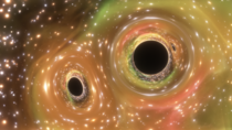 SpaceEngine A binary black hole