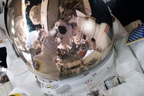 Spacewalk Selfie