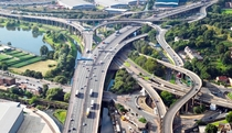 Spaghetti Junction- Birmingham UK- Where the A and M meet
