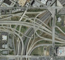 Spaghetti Junction I- and I-I- Atlanta Georgia