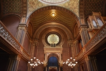 Spanish Synagogue is the most recent synagogue in the Prague Jewish Town It was in  for the local Reform congregation on the site of the th-century Altschul which was the oldest synagogue in the Prague ghetto It is called Spanish Synagogue for its impress