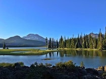 Sparks Lake Oregon