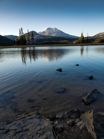 Sparks Lake Oregon Sattography