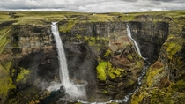 Speaking of waterfalls Hifoss  Iceland