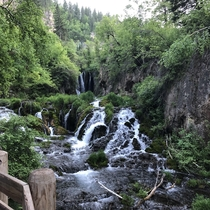 Spearfish Canyon South Dakota Black Hillsx