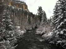 Spearfish Creek South Dakota USA OC
