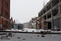 Spent a lot of time photographing Detroit between - Heres the Packard Plant wasteland from the first trip