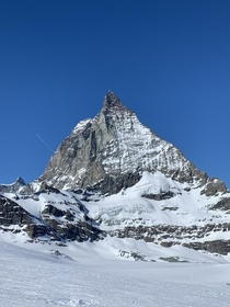 Spent four days in Zermatt with a perfectly unobstructed view of the Matterhorn