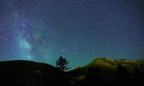 Spent  hours in the freezing cold of Cheyenne Canyon CO to snag the milky way