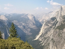 Spent the afternoon in at Glacier Point Yosemite CA