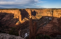 Spider Rock at Canyon de Chelly Arizona