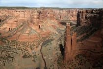 Spider Rock Canyon De Chelly Navajo Nation