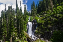 Spin Khwar waterfall Swat Pakistan  By Usman Shafqat