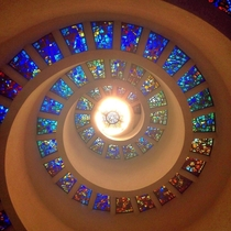 Spiral ceiling