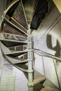 Spiral Staircase in a former psychiatric centre for children OC X