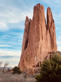 Spires in Contrast Garden of the Gods Colorado OC