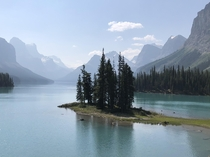 Spirit Island Banff National Park