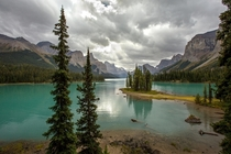 Spirit Island Jasper National Park  photo by Roy Goldsberry