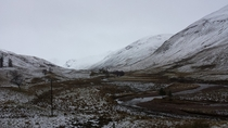 Spittal of Glenshee Perthshire Scotland - Boxing Day