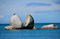 Split Apple Rock Abel Tasman NZ