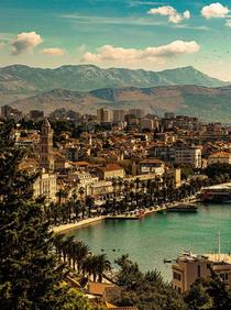 Split Croatia - early October
