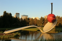 Spoonbridge and Cherry Minneapolis Sculpture Garden at the Walker Art Center