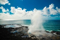 Spouting Horn Kauai Island of Hawaii