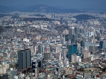 Sprawling Seoul South Korea