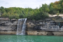 Spray Falls Pictured Rocks Natl Lakeshore near Munissing MI