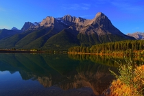 Spray Lakes Reservoir Alberta Canada  by Ashley Hockenberry
