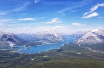 Spray Lakes reservoir Kananaskis AB x