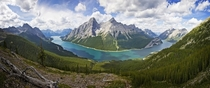 Spray Lakes Reservoir Kananaskis Alberta Canada x