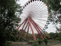 Spreepark - Abandoned amusement park in Berlin Filming location for the film Hanna