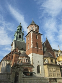 Spring at the Wawel Krakow Poland