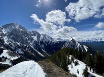 Spring hikes in the Rockies Alberta Canada