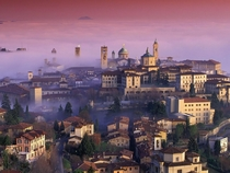 Spring Sunrise in Bergamo Italy from Travel Across Italy