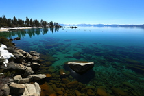 Spring time not really yet in lake Tahoe OC