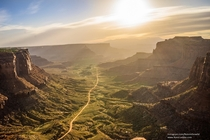 Springtime sunrise Schaffers Canyon Utah