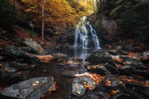 Spruce Flats Falls - Great Smoky Mountains National Park