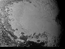Sputnik Planitia on Pluto px mosaic of NASA images processed by me