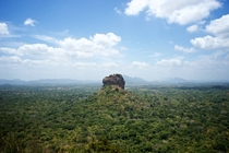 Sri lanka Sigiriya Picture taken from Pidurangala Ancient Forest Monastery OC