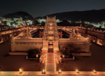 Sri Rama Vaikuntha Temple is a Hindu temple in Pushkar Rajasthan INDIA dedicated to Lord Rama and dates back to